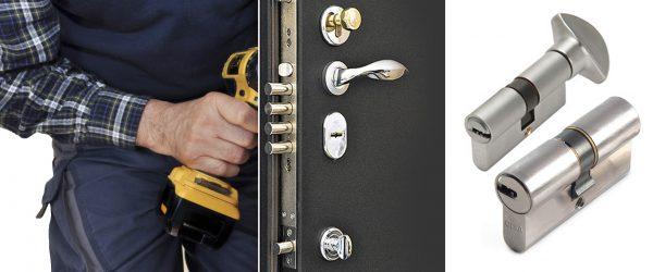 Замена замка в двери в Днепре фото
